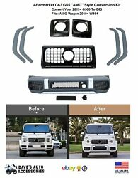 Aftermarket 19+ G63 Style Amg Front Facelift   Upgrade W464 G500 G550 To G63 Amg