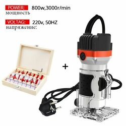 Electric Woodworking Machine 220v Carpentry Trimmer Milling Cutter Router Tool