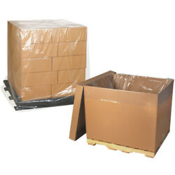 Pallet Covers, 42 X 42 X 72 2 Mil Clear, 500 Rolls