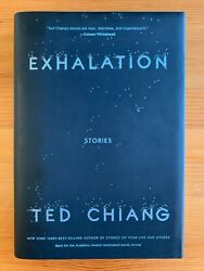 Exhalation Stories - Ted Chiang 2019, Hardcover Signed First Edition