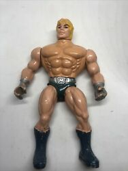 Vintage He-man Laser Power Toy 1987 Mattel Italy Masters Of The Universe Motu