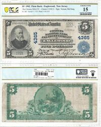 1902 5 Citizens National Bank And Trust Company Of Englewood Nj Pcgs Fine-15