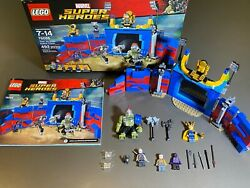 Lego 76088 Super Heroes Thor Vs Hulk Arena Clash - 100 Complete W/ Box And Manual