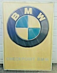 Genuine Bmw Dealership Sign Checkpoint Bmw Kenmore Buffalo Ny 6and039 Retired Sign