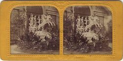 Sculpture Section Belgian Belgium Exhibition Stereo Diorama Tissue Stereoview