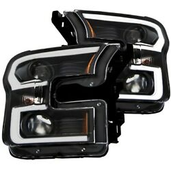 111347 Anzo Headlight Lamp Driver And Passenger Side New For F150 Truck Lh Rh Ford