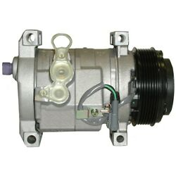 15-21178 Ac Delco A/c Compressor New For Chevy Express Van Savana With Clutch