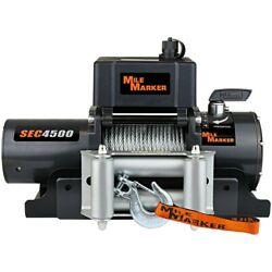 76-50115bw Mile Marker Winch New For F350 Truck F450 F550 Suburban Ford C1500