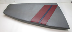 1986 Bayliner 21and039 Bow Rider Boat Front Port Left Bow Seat Cushion 52 X 29