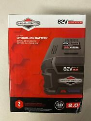 Briggs And Stratton 82v Max 2.0 Lithium-ion Battery For Snapper Xd Cordless New