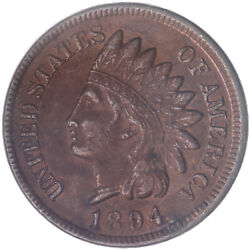 1894 Indian Head Cent Extra Fine Penny Xf+ See Pics K533