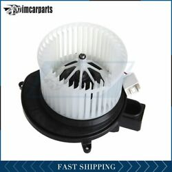 Front A/c Heater Blower Motor W/fan For Dodge Nitro Jeep Liberty 68038826ab New