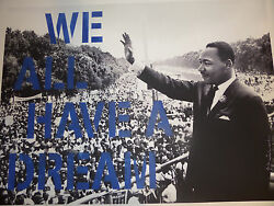 Mr Brainwash - We All Have A Dream - Blue Edition - Mlk - Dr. Martin Luther King
