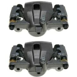 Set-ac1722647-f Ac Delco Brake Calipers 2-wheel Set Front Driver And Passenger New