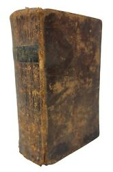Antique Stereotype Edition Holy Bible Amos Wright Estate Bucks County Pa 1812