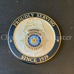 Wisconsin State Patrol Police Challenge Coin