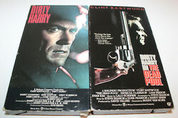 Dirty Harry And The Dead Pool Vhs Clint Eastwood Warner Home Video Action