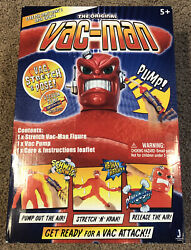 The Original Stretch Armstrong Vac-man Figure Brand New Sealed