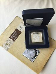 2013 Lithuania 100 Litas Dedicated To The 400th Anniversary Of The First Map