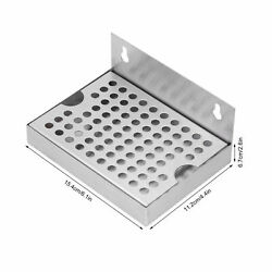 Wall Mounted Beer Drip Tray Stainless Steel Drip Tray For Homebrew Kegging Dr By