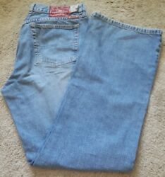 Lucky Brand Dungarees Womens Size 14 Style 136 Lower Rise Flare Made In Usa Lb1