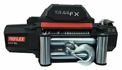 Trail Fx Wr12b Vehicle Recovery Winch 12 Volt 12000lbs Capacity 94and039 Wire Rope