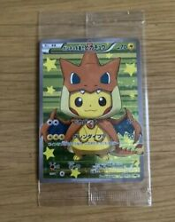 Pikachu Charizard In A Poncho Pokemon Card No.208/xy-p Promo Japanese From Japan