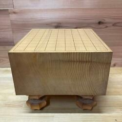Go Board Table Wooden Goban W/legs1pc Japanese Board Game Good Condition Vintage