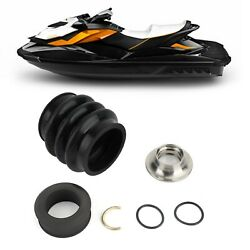 4-tec Carbon Ring Seal Drive Line Rebuild Kit And Boot For Sea Doo Rxp Rxpx Rxtx