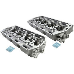 New Cylinder Head Left + Right For Ford 6.7l Ohv V8 Power Stroke F-250 F-350