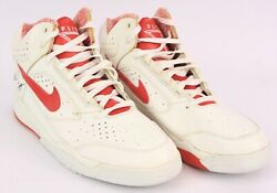 1991 Scottie Pippen Chicago Bulls Game Worn Nike Air Flight Shoes Mears Loa