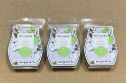 Scentsy Wax Bars Apple Parsley Lot Of 3 Life's A Garden Collection