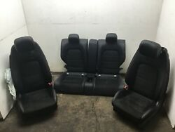 Mercedes C43 W205 Amg Coupe Front Rear Left Right Seat Set 17 18 19 20  