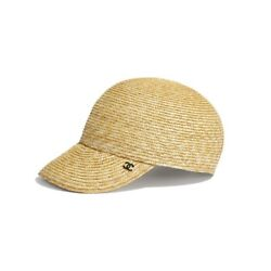 Authentic Receipt New 2019s Sold Out Cc Straw Baseball Cap Logo 19s Beach