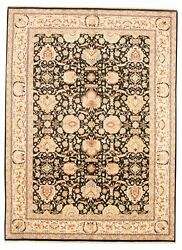 Vintage Hand-knotted Carpet 9'1 X 12'4 Traditional Oriental Wool Area Rug