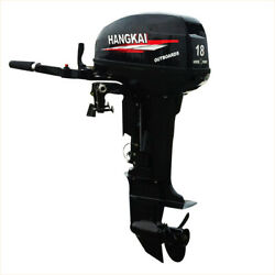 Outboard Motor 2 Stroke Inflatable Fishing Boat Engine 18 Hp