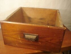 Antique Apothecary General Store Drawer Bin Wainscoting Farmhouse