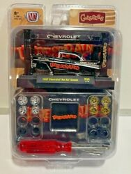 M2 Machines Model Kit R39 1957 Chevrolet Bel Air Gasser 1/64th Limited To 8280
