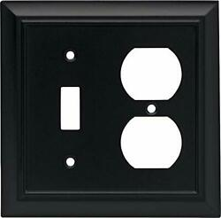 Architectural Single Toggle Switch/duplex Outlet Wall Plate / Switch Plate / ...