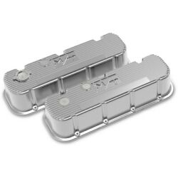 241-151 Holley Valve Covers Set Of 2 New For Chevy Suburban Express Van Pair
