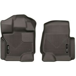 53340 Husky Liners Floor Mats Front New For F150 Truck Ford F-150 2015-2021