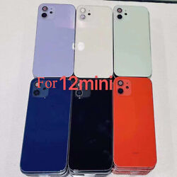 Battery Door For Iphone 12 Pro Max Mini Back Housing Cover Replacement Parts New