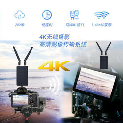 1080p Wireless Hdmi Audio Video Adapter Receiver Transmitter Kit For Vlog Camera