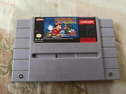 Magical Quest Starring Mickey Mouse + Goof Troop Super Nintendo 2 Games