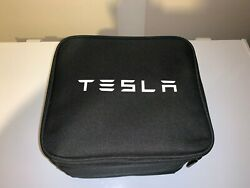 Tesla Model X Oem Tow Trailer Hitch Receiver Carry Case And Keys 1027582-00-a