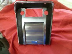 1967 Mustang Center Console Radio Bezel Plate W Ford Garage Door Modified 67