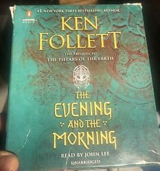 The Evening and the Morning by bestselling author Ken Follett u a CD audiobook $44.95