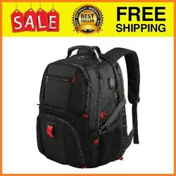 Travel Backpacks for Men Extra Large College School Laptop Bookbags with USB 17 $43.99