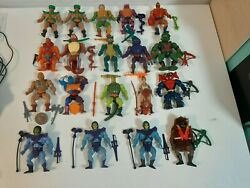 Vintage Masters Of The Universe Variant Collection - 19 He-man Variant Figures