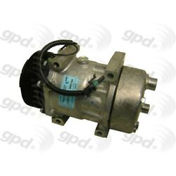 6511609 Gpd A/c Ac Compressor New With Clutch For Jeep Cherokee Wrangler 1995